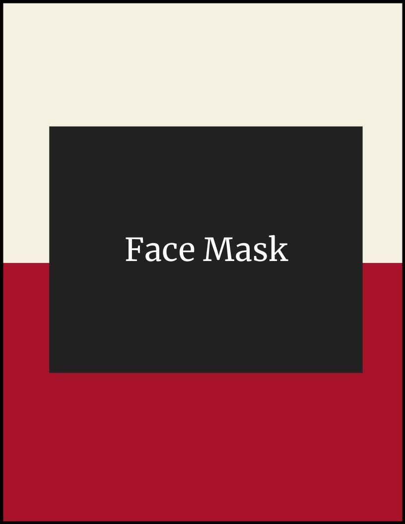 Face Mask for 2020-2021