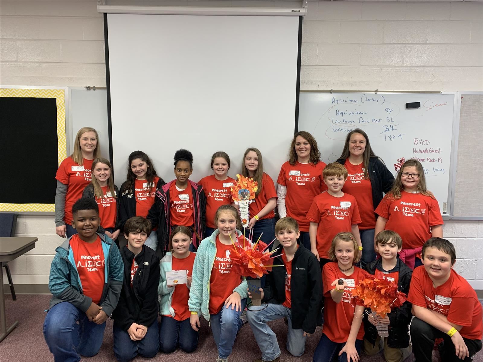 Pinecrest Science team competes in Shelby County