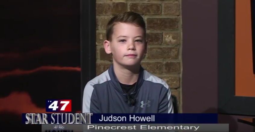 Star Student of the Month- Judson Howell