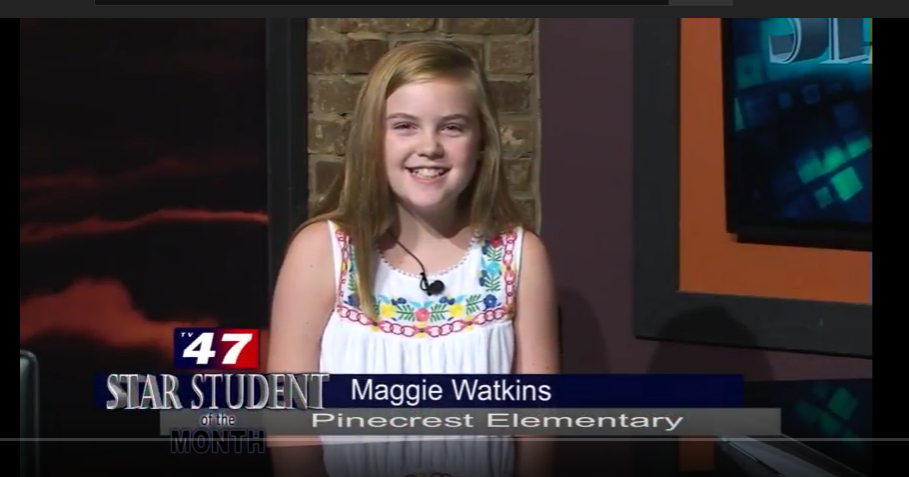 Pinecrest Star Student of the Month- Maggie Watkins