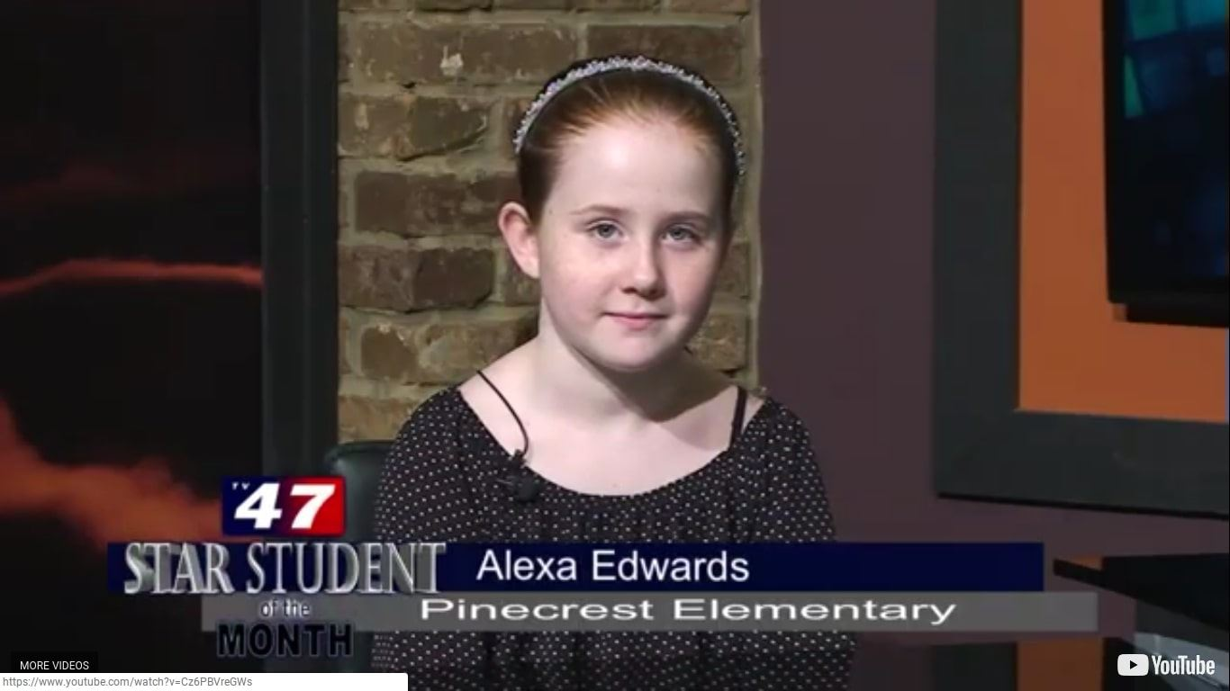 Star Student of the Month- Alexa Edwards