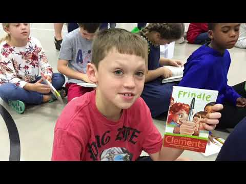 One School One Book Assembly Video