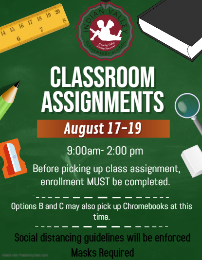 Classroom Assignment Flyer