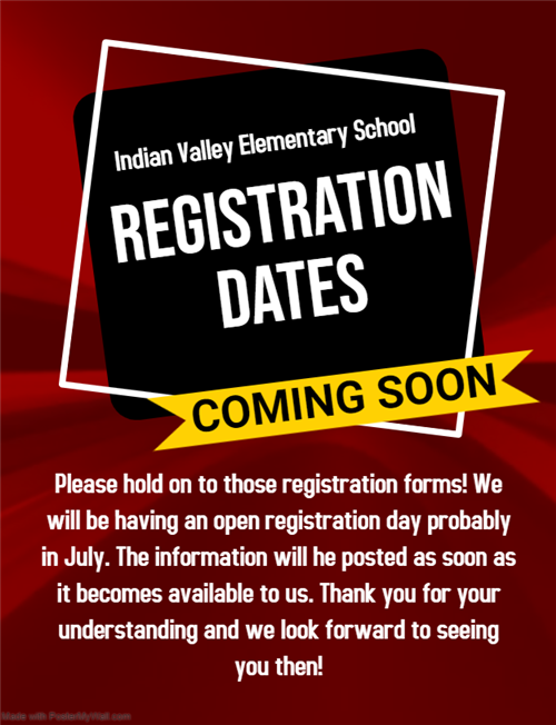 Registration Dates Coming Soon