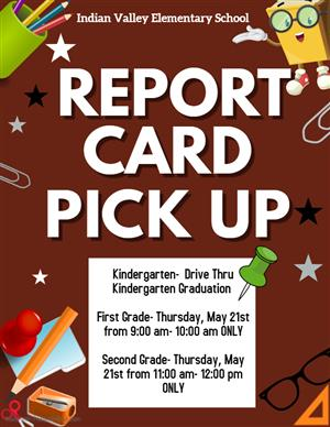 Report Card Pick Up Dates