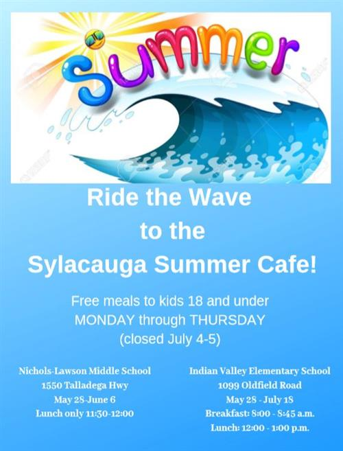 Sylacauga Summer Cafe
