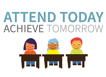 Attend today Achieve Tomorrow logo