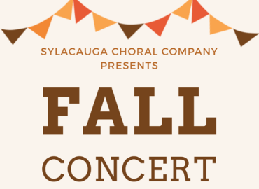 SHS Choral Fall Concert Flyer. Flyer information is on SHS Choral Fall Concert website