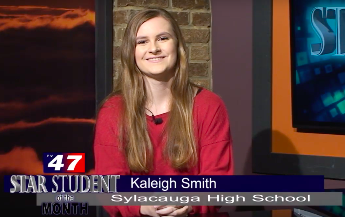Kaleigh Smith Selected as TV47 Star Student of the Month