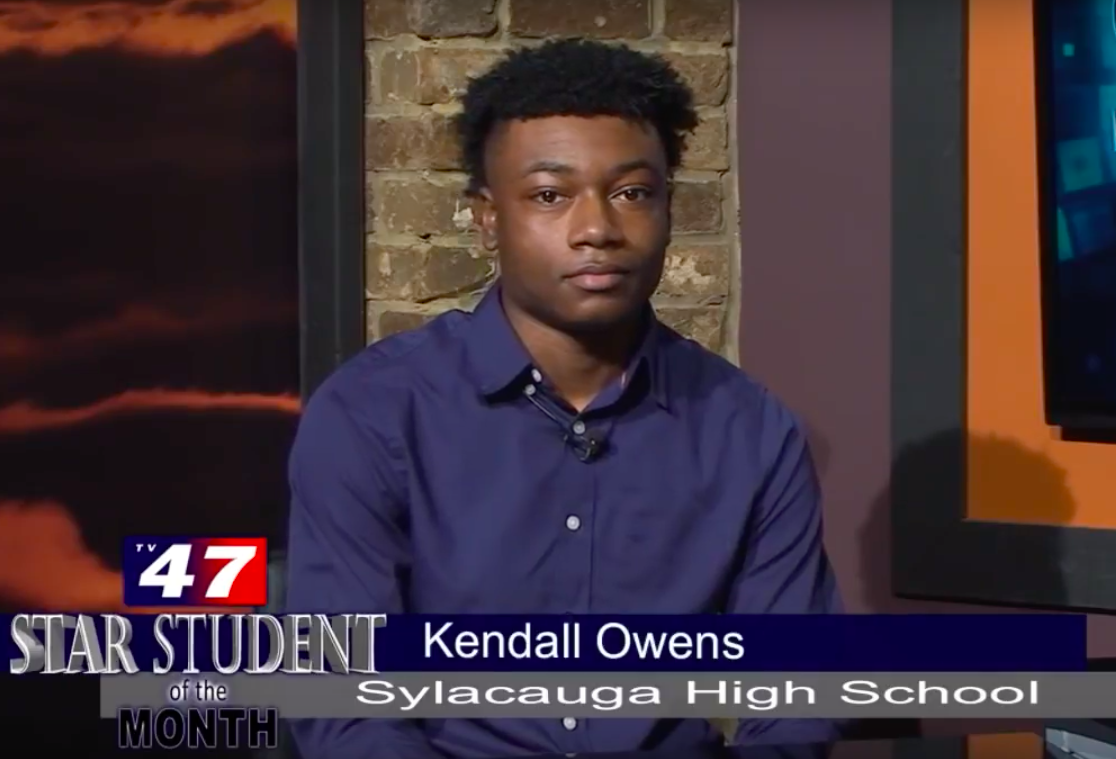 Kendall Owens Selected as TV47 Star Student of the Month