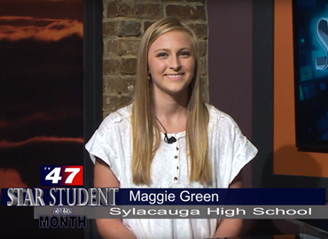 Maggie Green, TV47 Star Student of the Month